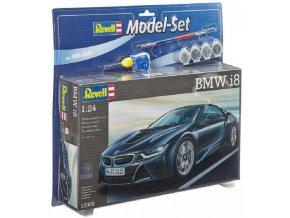 Revell - BMW i8, ModelSet 67008, 1/24