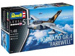"""Revell - Tornado GR.4 """"Farewell"""", Plastic ModelKit letadlo 03853, 1/48"""