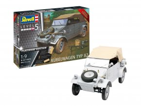 Revell - Kübelwagen Typ 82 Platinum Edition, ModelKit Limited Edition 03500, 1/9