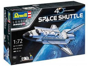 Revell - Space Shuttle - 40th Anniversary, Gift-Set vesmír 05673, 1/72