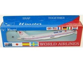 Wooster - Airbus A320, společnost Onur Turkey, Turecko, 1/200