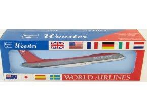 Wooster - Boeing B757, společnost Northwest, USA, 1/200