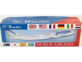 Wooster - Boeing B747-400F, společnost National Air Cargo, USA, 1/250