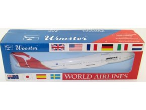 Wooster - Boeing B747-400, společnost Qantas, Austrálie, 1/250