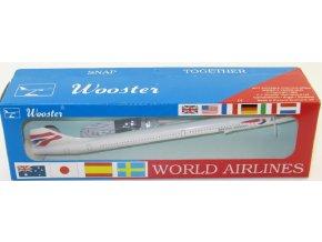 Wooster - Concorde, společnost British Airways, Velká Británie, 1/250