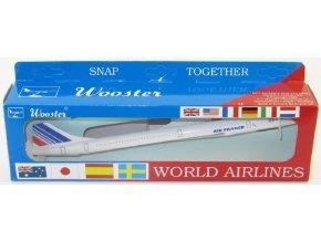 Wooster - Concorde, společnost Air France, Francie, 1/250