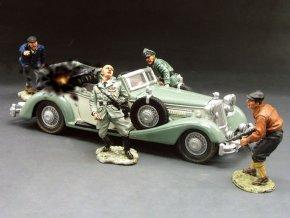 King & Country - diorama atentát na zastupujícího říšského protektora Reinharda Heydricha, 27.května 1942, Praha, 1/30
