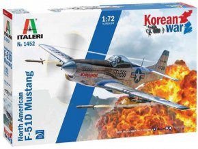 "Italeri - F-51D ""Korean War"", Model Kit 1452, 1/72"