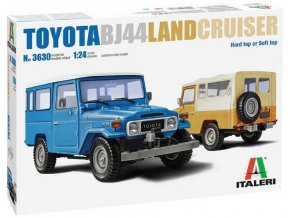 Italeri - Toyota Land Cruiser BJ-44 Soft/Hard Top, Model Kit 3630, 1/24