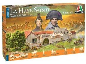 Italeri - Waterloo 1815: La Haye Sainte, Model Kit diorama 6197, 1/72