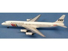 AeroClassic - Douglas DC-8-62, dopravce SAS Scandinavian Airlines SE-DDU, Švědsko, 1/400