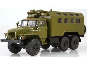 Russian Trucks - URAL 4320 Kung, 1/43