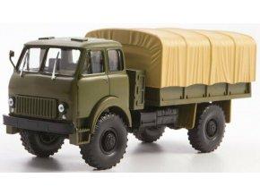 Russian Trucks - MAZ-505, vojenský, plachtový, 1/43