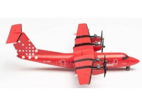 "Herpa - De Havilland DHC-7, dopravce Air Greenland ""2000s"" Colors, Named ""Taateraaq"", Grónsko, 1/200"