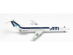 Herpa - DC-9-32, společnost ATI - Aero Trasporti Italiani, Itálie, 1/200