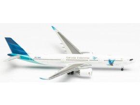 "Herpa - Airbus A330-941, společnost Garuda Indonesia ""2010s"" Colors, Indonézie, 1/500"