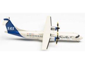 "Herpa - ATR72-600 (72-212A), společnost SAS Scandinavian Airlines ""2019s Colors "", Named ""Gyrid Viking"", Švédsko, 1/200"