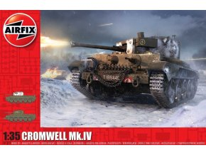 Airfix - Cruiser Mk.VIII A27M Cromwell Mk.IV, Classic Kit A1373, 1/35