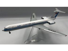Iljušin IL-62, společnost Aeroflot CCCP-86653 with KLM titles, limited edition, CCCP, 1/200