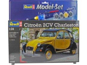 Revell - Citroen 2CV, ModelSet 67095, 1/24