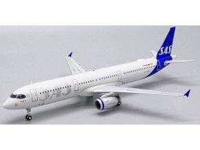 JC Wings - Airbus A321, společnost SAS Scandinavian Airlines OY-KBH, Švědsko, 1/200