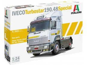 Italeri - IVECO TURBOSTAR 190.48 SPECIAL, Model Kit 3926, 1/24
