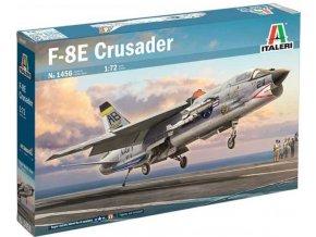 Italeri - F-8E Crusader, Model Kit letadlo 1456, 1/72
