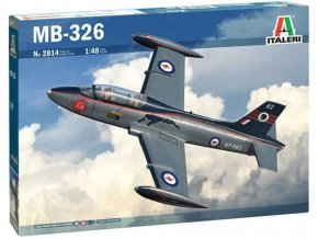 Italeri - MB 326, Model Kit 2814, 1/48
