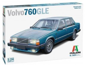 Italeri - Volvo 760 GLE, Model Kit auto 3623, 1/24
