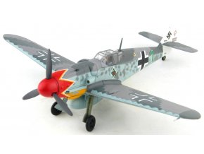 HobbyMaster - Messerschmitt Bf-109G, Luftwaffe, JG 50, Hermann Graf, Wiesbaden-Erbenheim, Německo, září 1943, 1/48