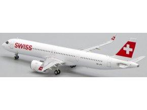 JC Wings - Airbus A321neo, společnost Swiss HB-JPA, Švýcarsko, 1/400