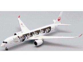 "JC Wings - Airbus A350-900, dopravce JAL Japan Airlines ""Special Livery"" JA04XJ (klapky dolů), Japonsko, 1/400"