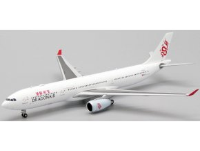 JC Wings - Airbus A330-300, společnost Dragonair B-HLL, Hong Kong, 1/400