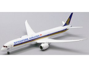"JC Wings - Boeing B787-10 Dreamliner, dopravce Singapore Airlines ""1000th 787"" 9V-SCP (klapky dolů), Singapur, 1/400"
