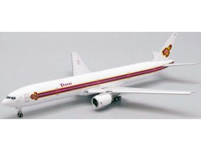 "JC Wings - Boeing  B777-300, dopravce Thai Airways ""Old Livery"" HS-TKE (klapky dolů), Thajsko, 1/400"