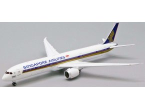 "JC Wings - Boeing B787-10 Dreamliner, dopravce Singapore Airlines ""1000th 787"" 9V-SCP, Singapur, 1/400"