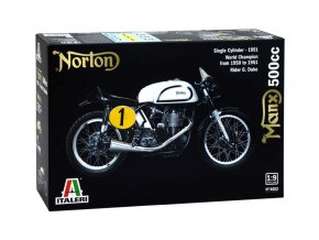 Italeri - Norton Manx 500cc, 1951, Model Kit 4602, 1/9