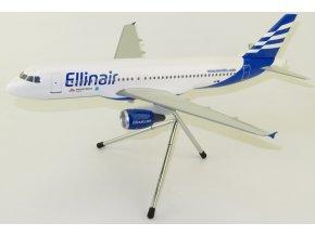 Lupa - Airbus A320-200, společnost Ellinair, Řecko, 1/100