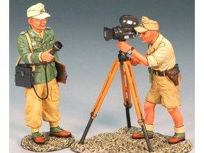 King & Country - válečný zpravodaj a kameraman, Deutsches Afrika Korps, 1/30