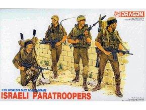Dragon -  ISRAELI PARATROOPERS, Model Kit 3001, 1/35