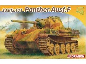 Dragon - Sd.Kfz.171 Panther Ausf.F, Model Kit 7647, 1/72