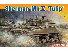 Dragon - Sherman Mk.V 'Tulip', Model Kit 7312, 1/72