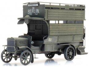 Artitec - Omnibus Typ B, WWI, Britská armáda, 1/87