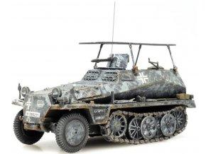 Artitec -  Sd.Kfz 250, Wehrmacht, zimní šedá, 1/87