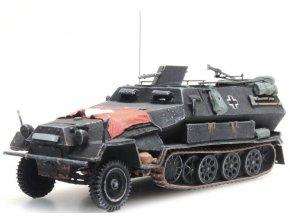 "Artitec -  Sd.Kfz 251/1B ""Hakl"", Wehrmacht, vlajka, 1/87"