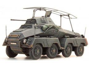 Artitec - Sd.Kfz 232 8-Rad Funkwagen, Wehrmacht, šedý, 1/87