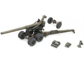 Artitec - 155 mm Gun M1, 'Long Tom' firing mode, US Army, 1/87