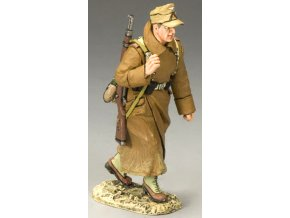 King & Country - střelec s K98, pochod, Deutsches Afrika Korps, 1/30