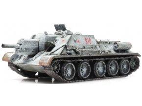 Artitec - SU-122, sovětská armáda, zimní kamufláž, 1/87