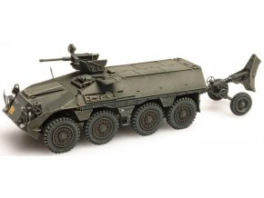 Artitec - DAF YP-408 PWMR Mortar, Koninklijke Landmacht, Nizozemí, 1/87